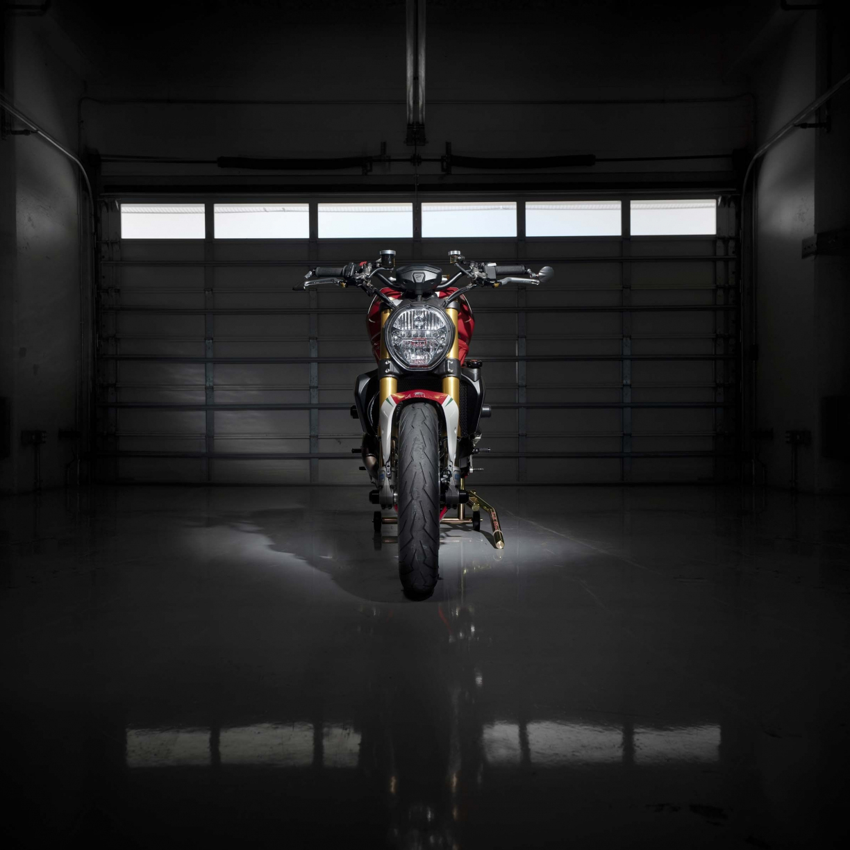 ducati monster 1200 tricolore 2019 4k