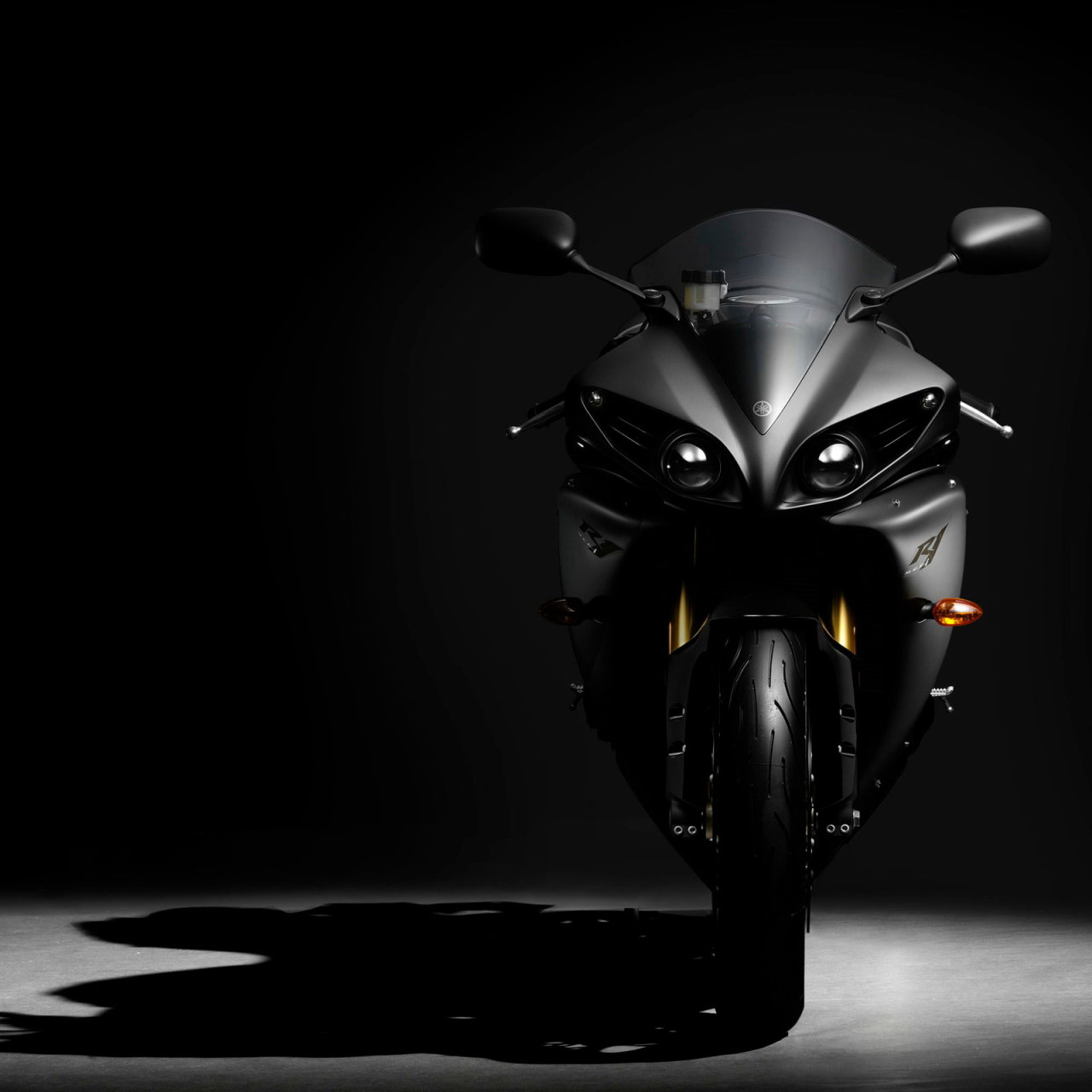 2012 yamaha yzf r1 hd wallpaper black sport motorcycle bikes motorcycles