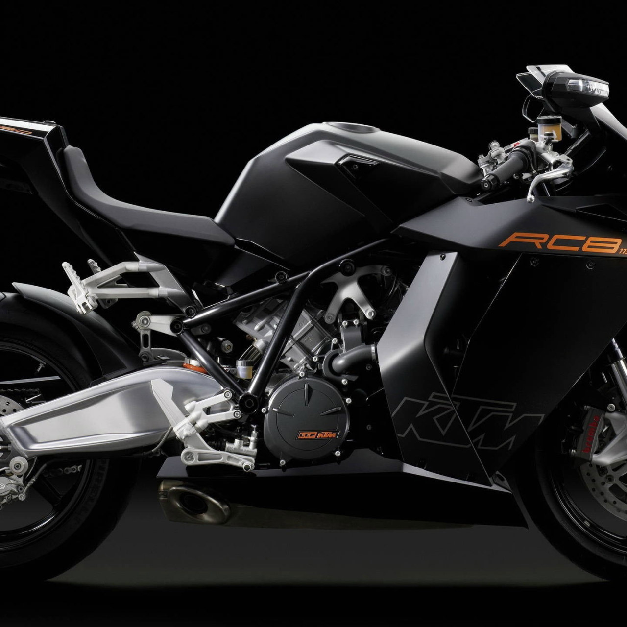 black ktm sport bike wallpaper ktm rc8 motorcycle vehicle transportation