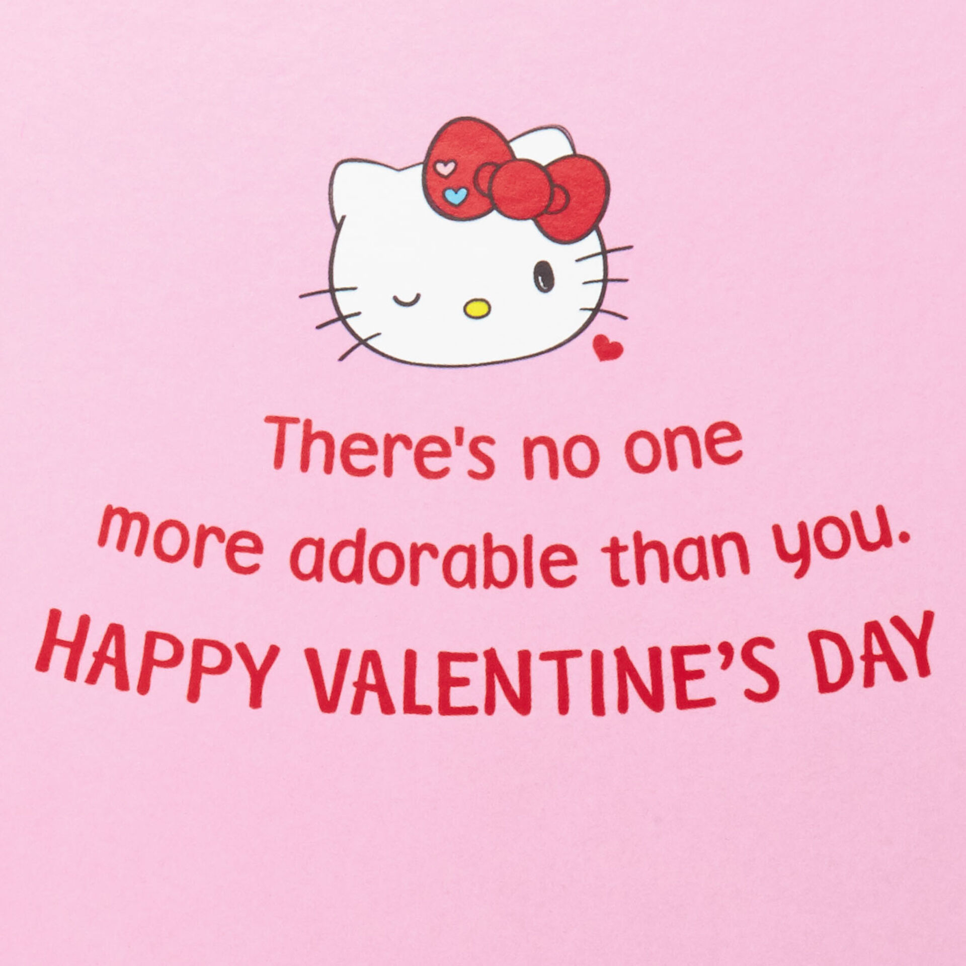 hello kitty valentines day card with stickers 499IAV1106