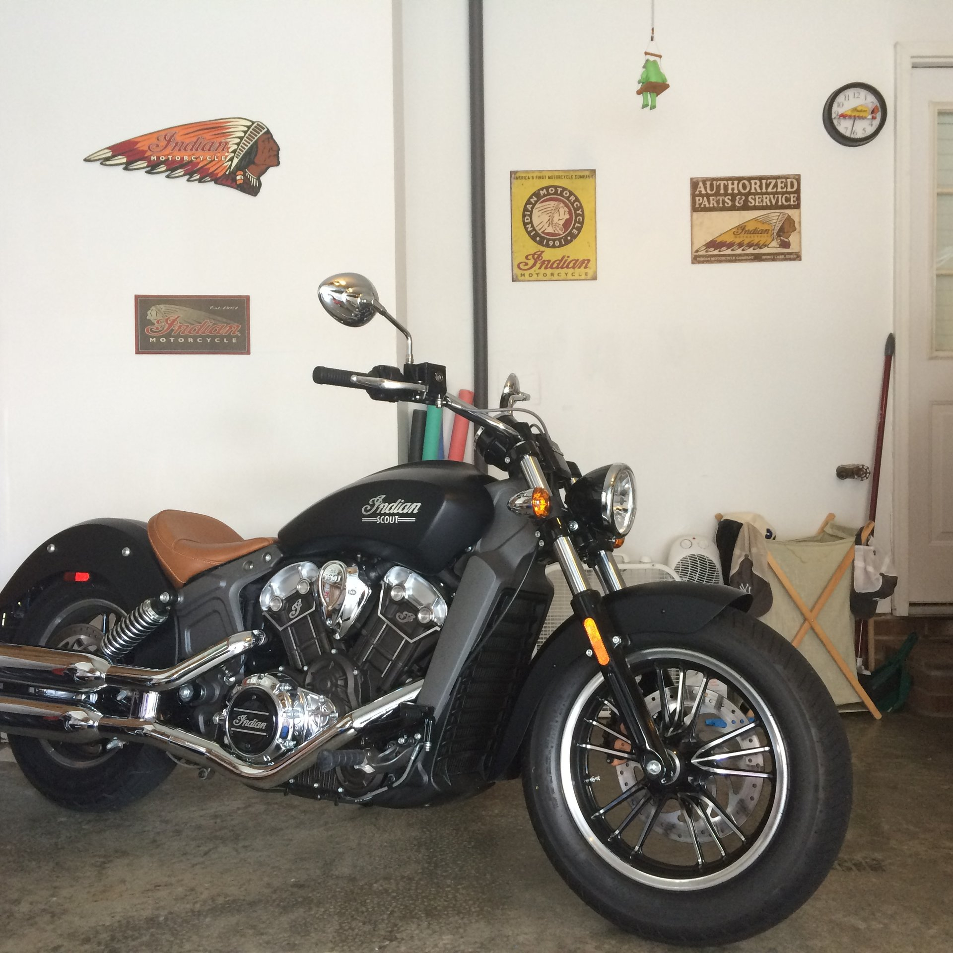 2016 indian scout 350 miles 10 000