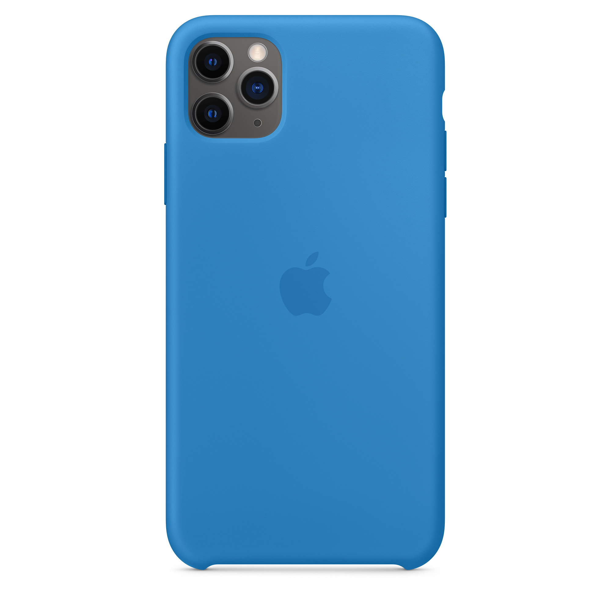 iphone 11 pro max silicone case surf blue