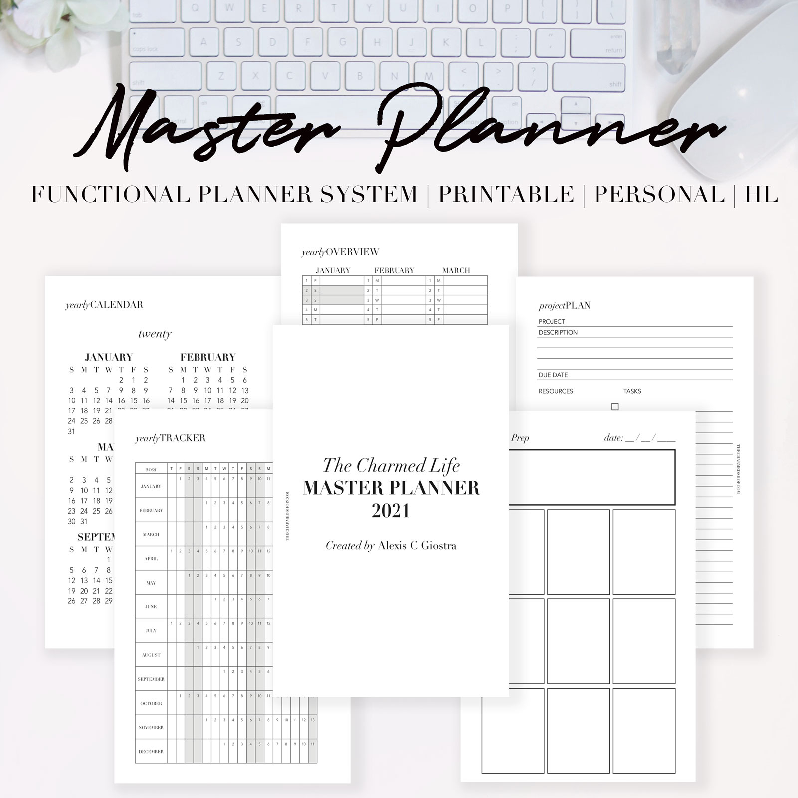 new 2021 planner inserts are here