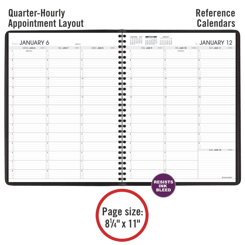 at a glance 2021 weekly planner