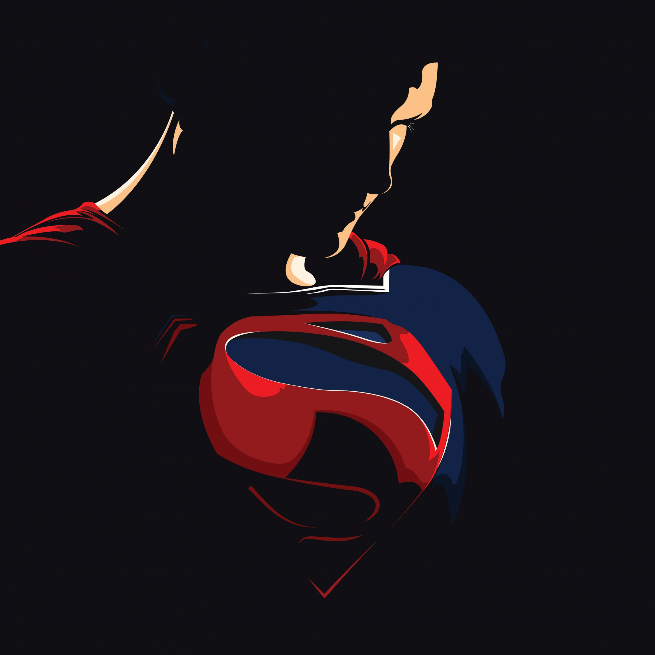 superman justice league minimal 959a2a