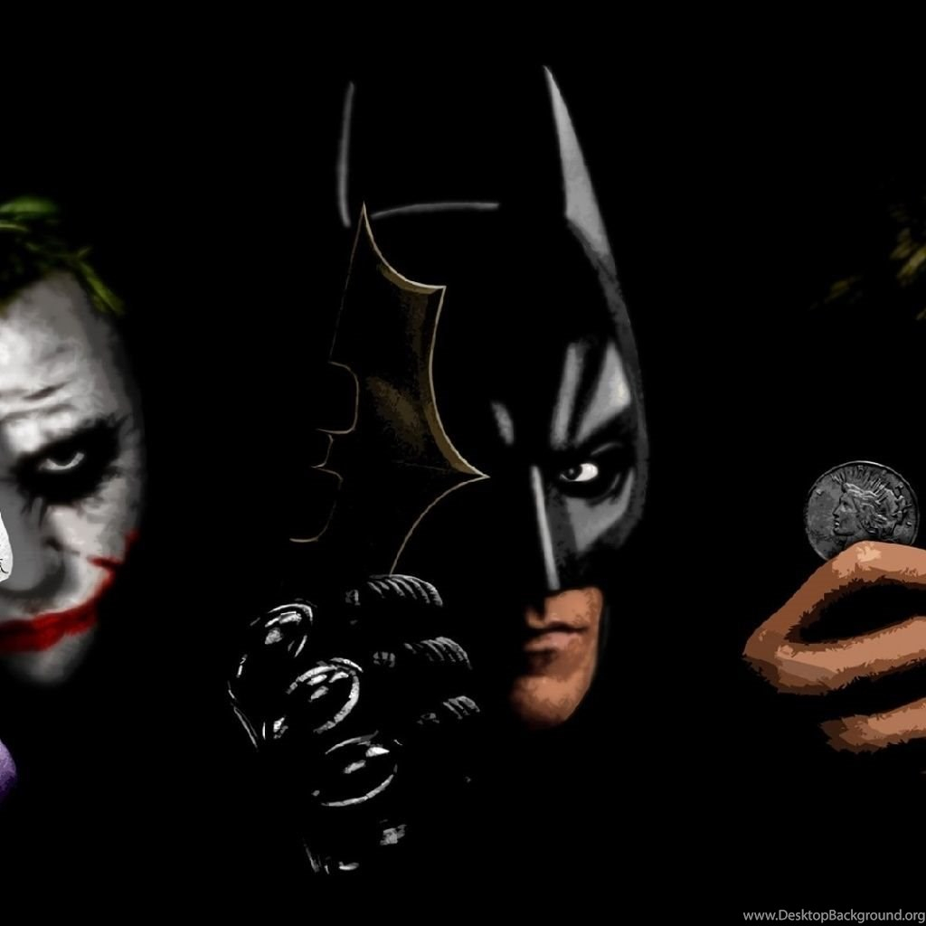 joker batman and two face ipad 1 2 wallpapers