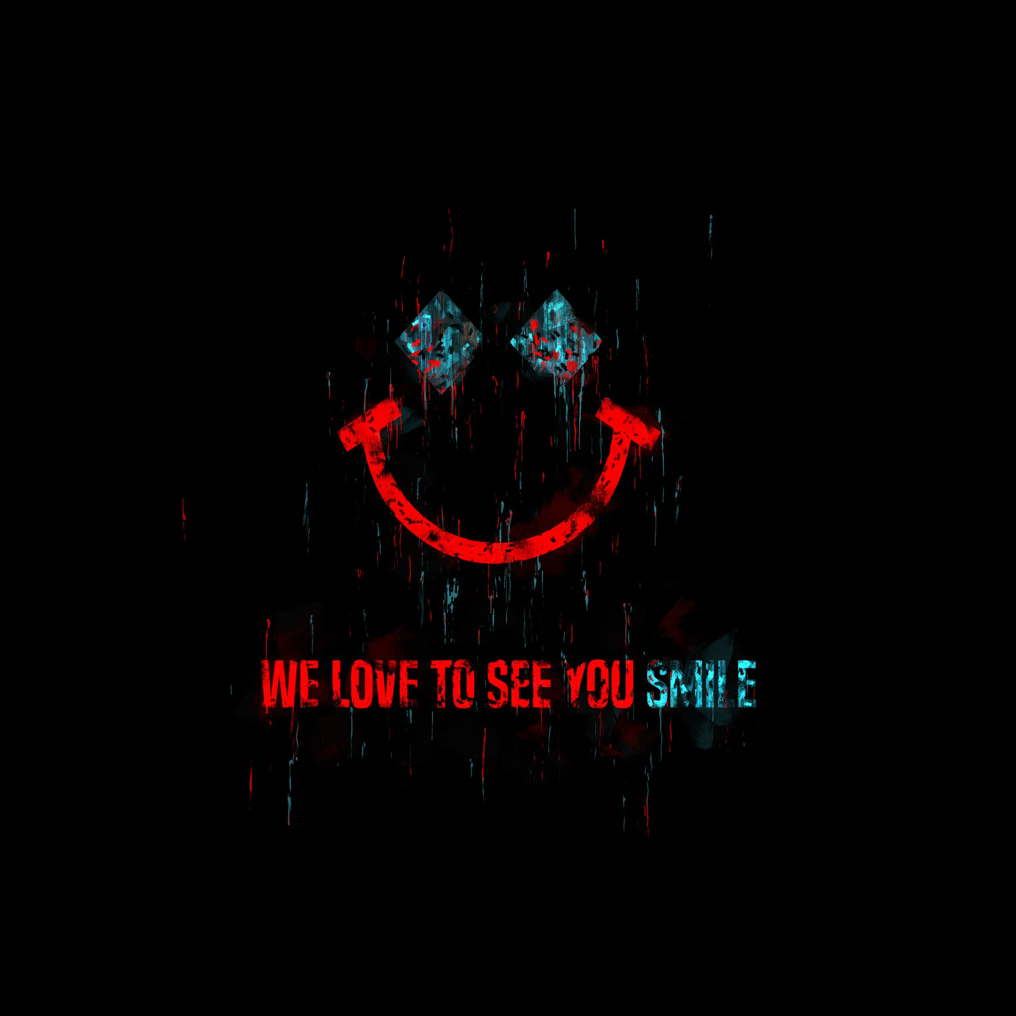 we love to see you smile joker quote 5k wallpapers