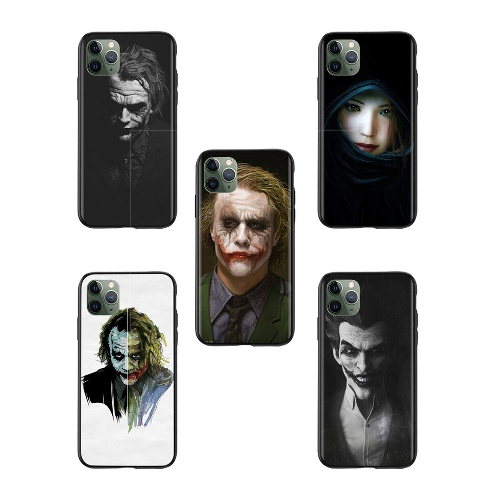 Greatest 3D Devil joker Wallpapers Mobile Phone Cover Bags for iPhone X 11 11Pro max 960x960