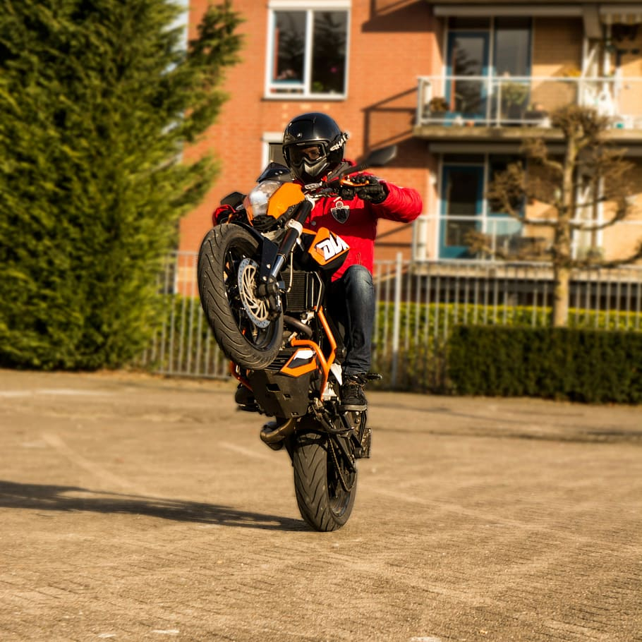 supermoto motor stunt duke 125cc ktm dirt bike motorcycle wallpaper wdygx