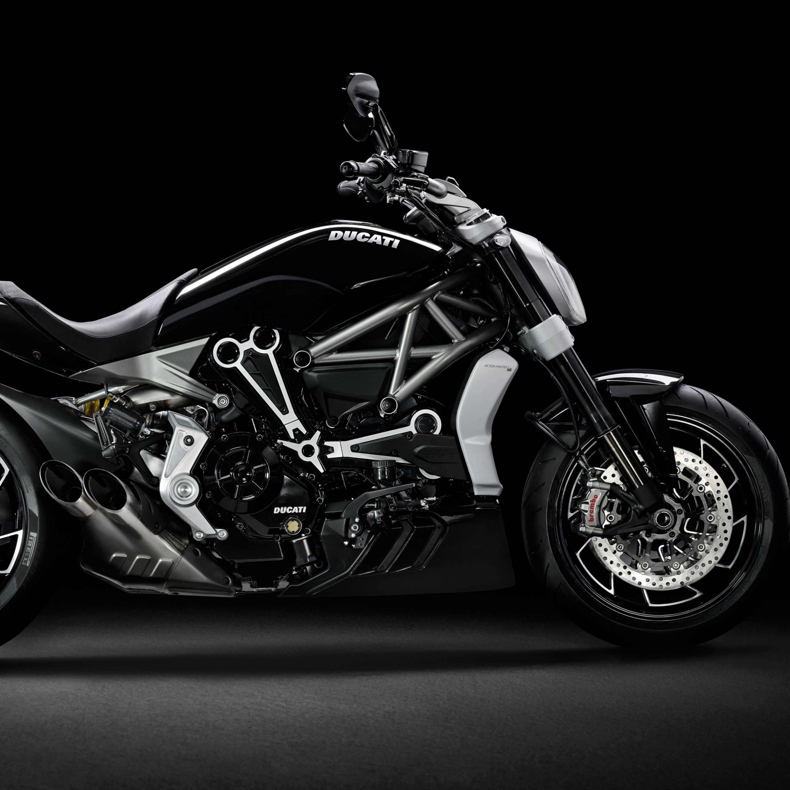 ducati xdiavel s cruiser motorcycle dark background 2732x2732 2914