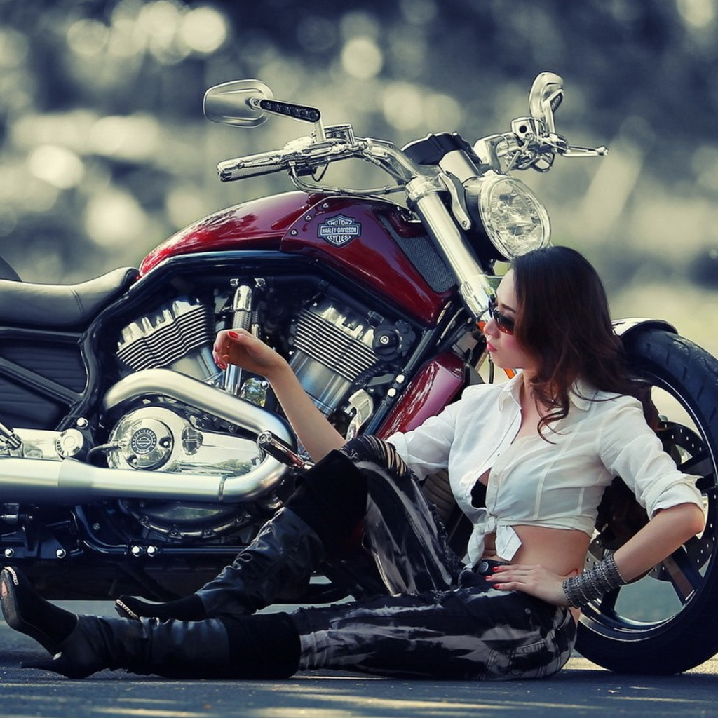 TmhmRo motorcycle girl wallpaper bullet with girl hd