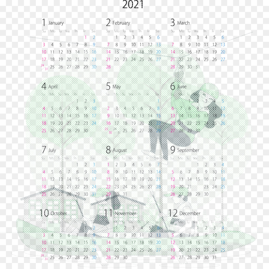 png 2021 yearly calendar printable 2021 yearly calenda