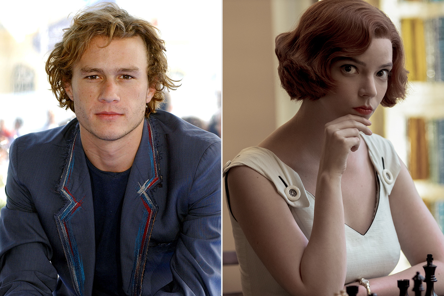 heath ledger queens gambit