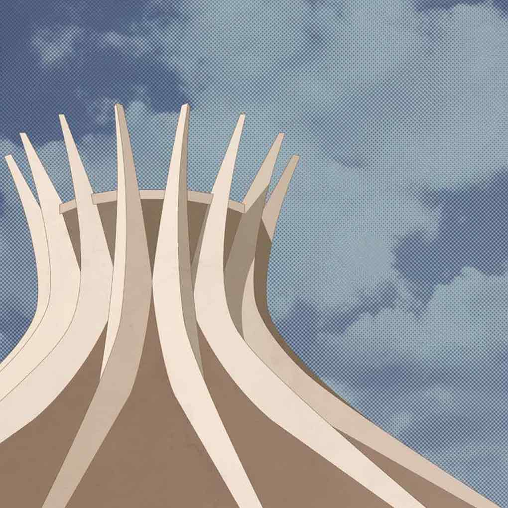 01 andre chiote SACRED SPACES illustration niemeyer