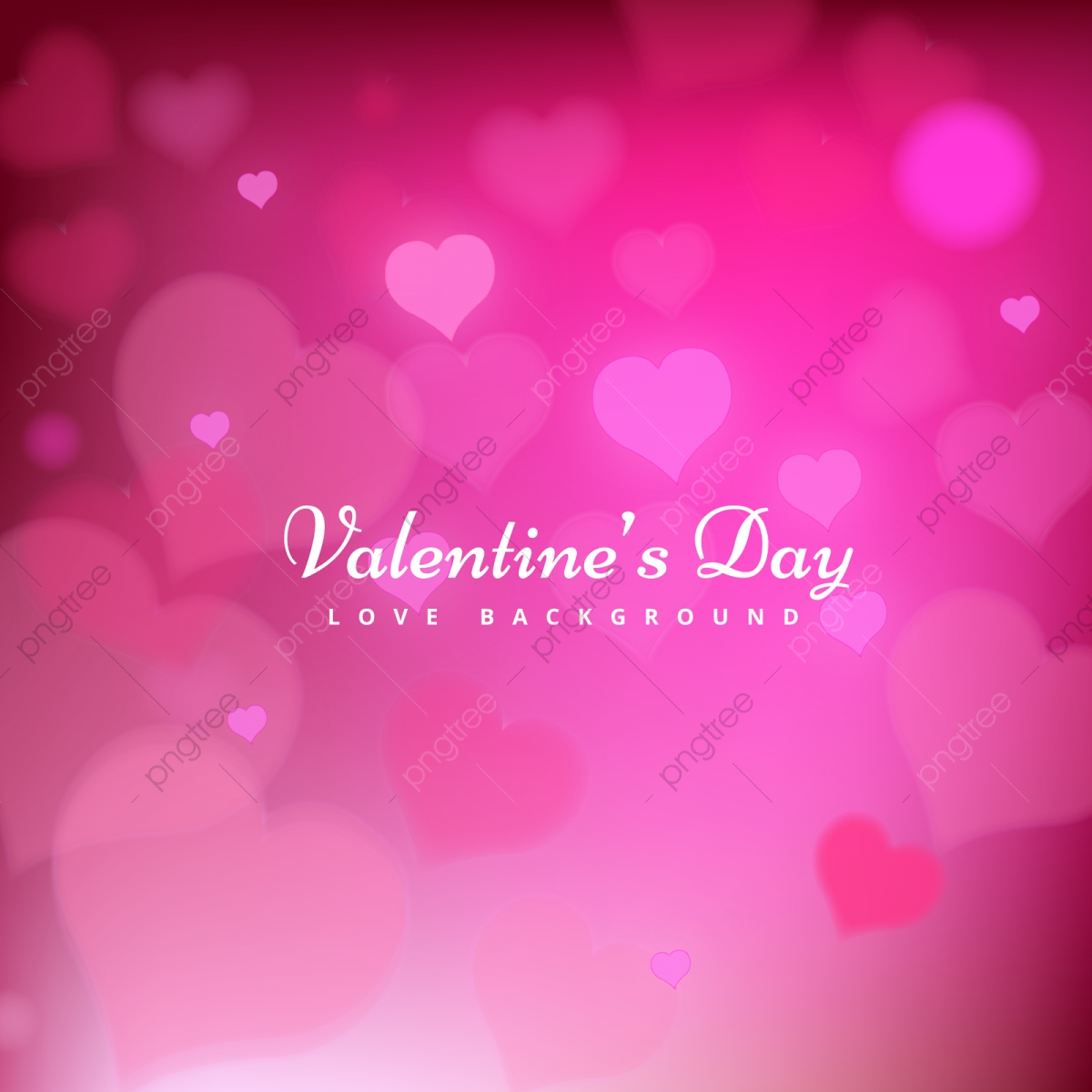 pngtree happy valentines day pink background design png image