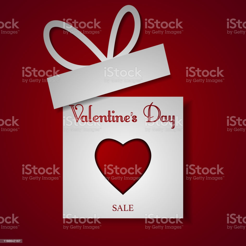 valentines day special offer sale template background shopping discount vector gm