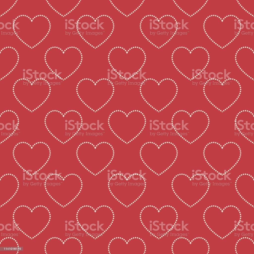 hearts pattern valentines day background for holiday template vector id