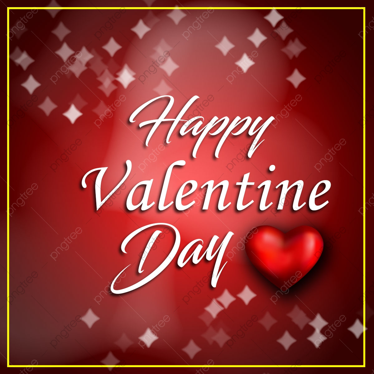 pngtree happy valentine day images with heart and bokeh background png image