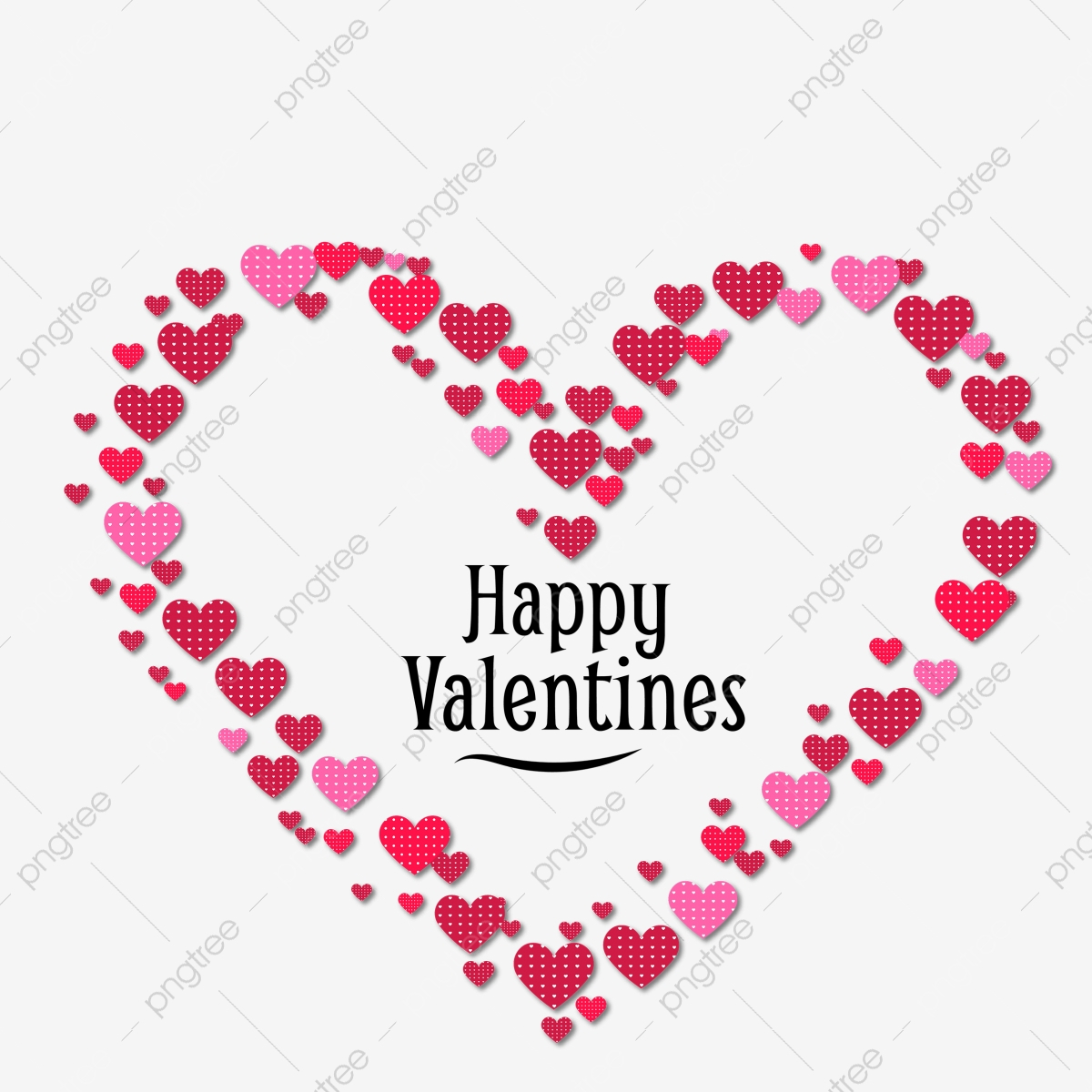 pngtree heart of valentine day png transparent png image