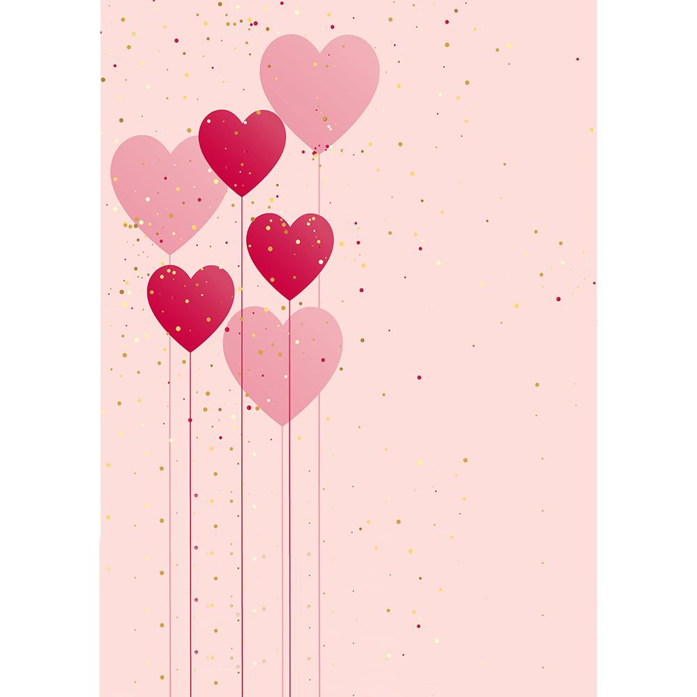 Pink Hearts Backgrounds puter Printed graphy Backdrop for Baby Shower Lovers Valentine s Day Wedding