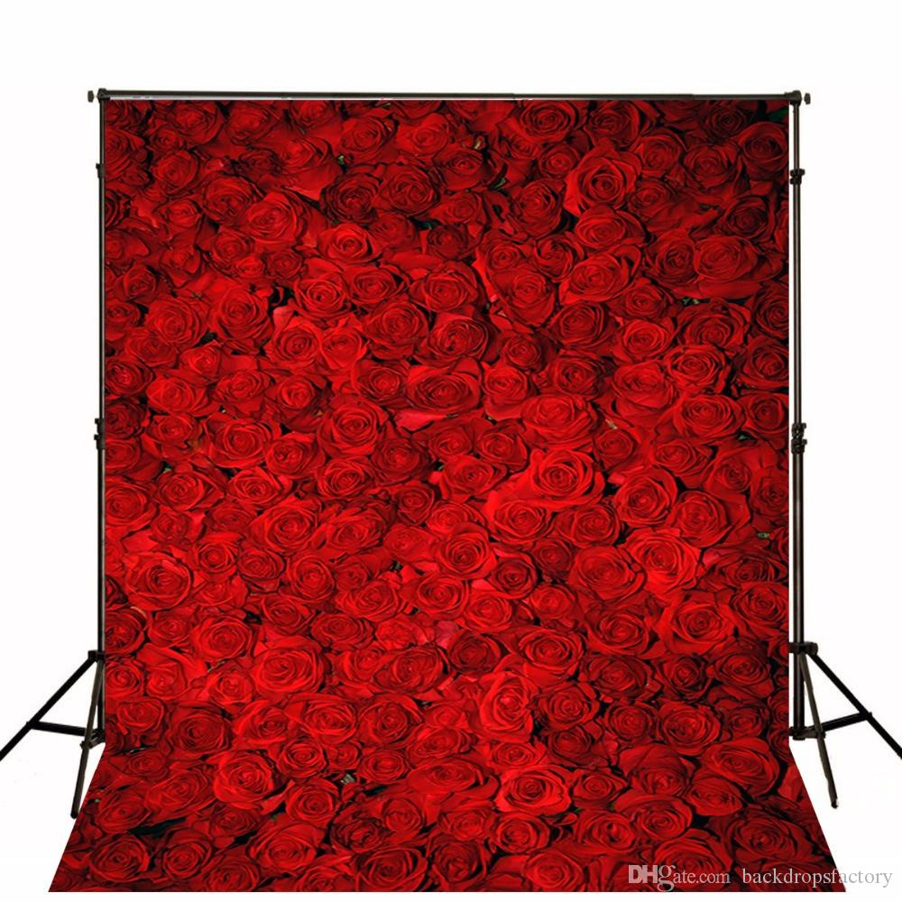 3d red roses photo backgrounds romantic flower