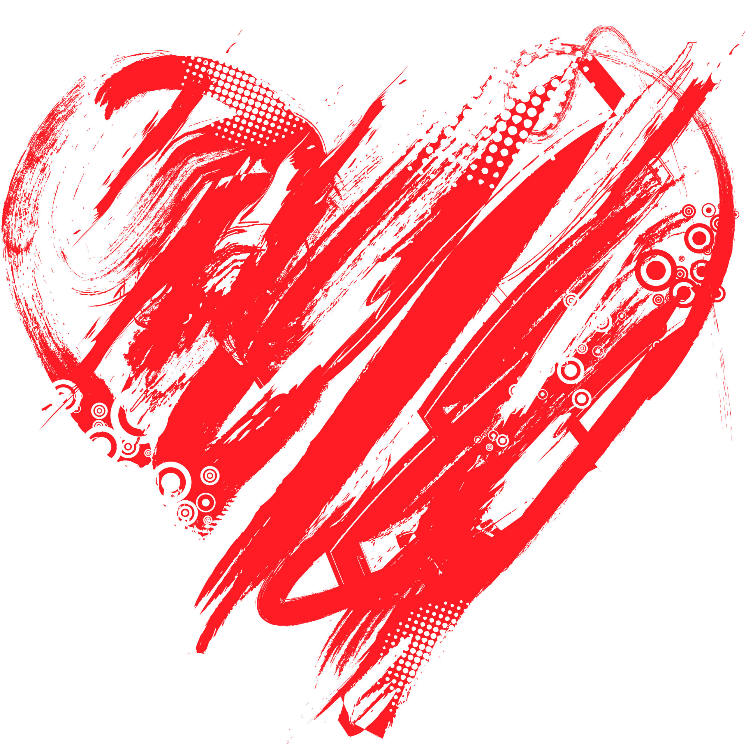oxiwbb valentines day heart picture scribbled heart clipart red