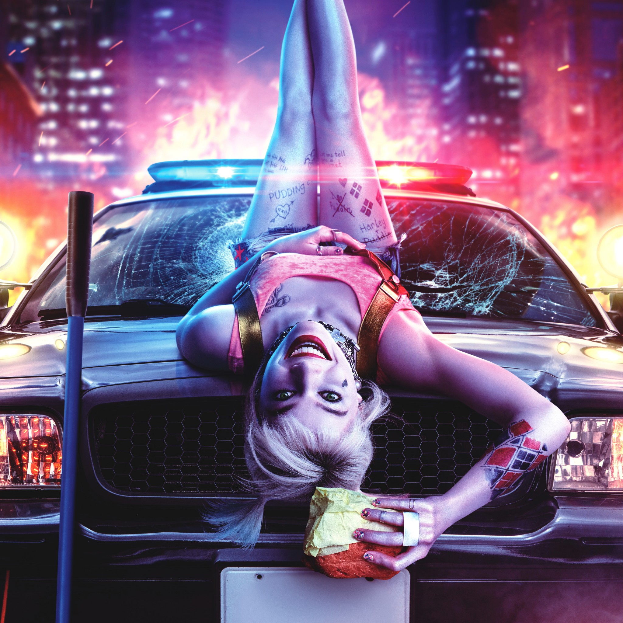 harley quinn birds of prey margot robbie dc ics 2020 2195