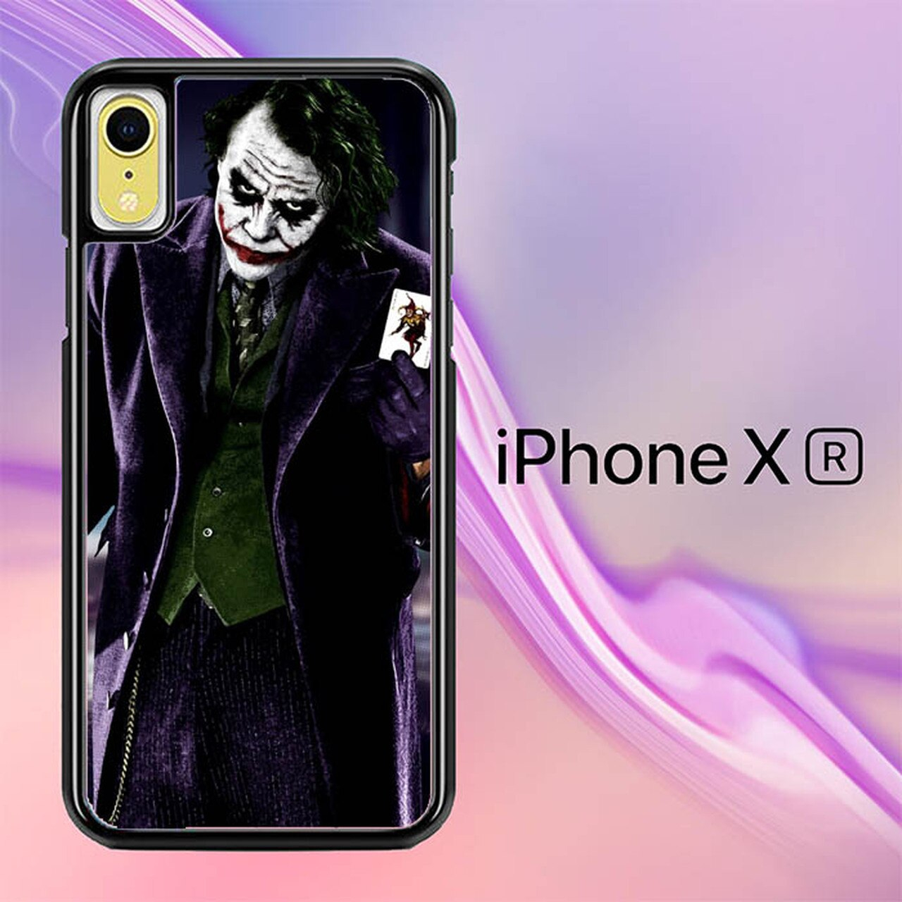 batman joker wallpaper y0470 iphone xr case