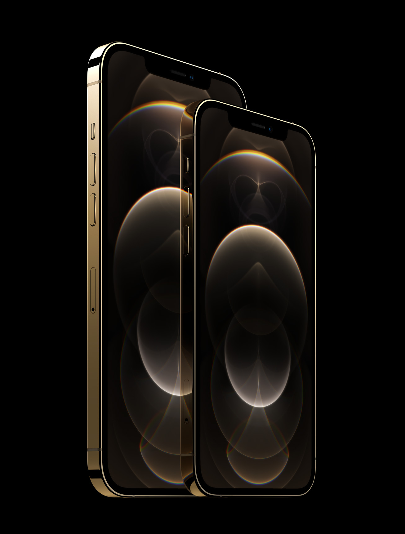 Apple iphone12pro stainless steel gold