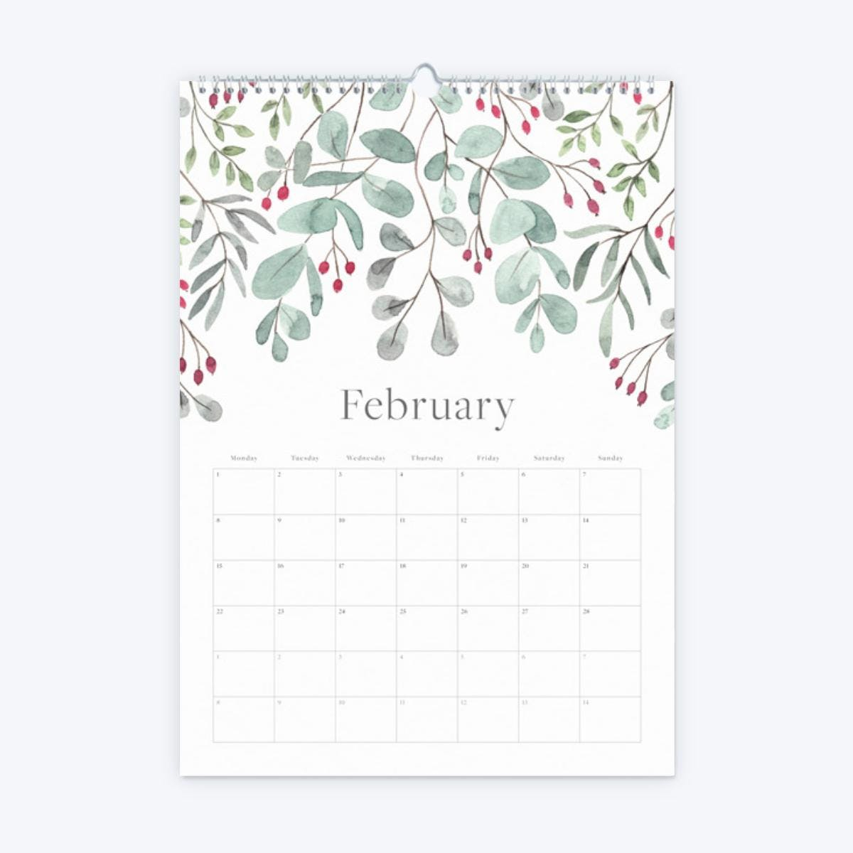 s product image 76 2021 floral calendar february