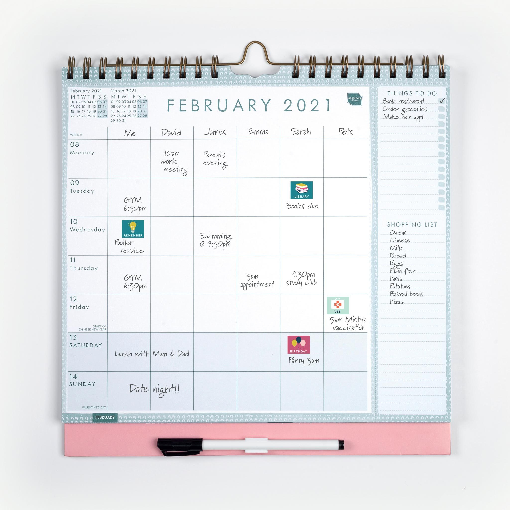Boxclever Press family weekly planner calendar 2021 2 1024x1024 2x