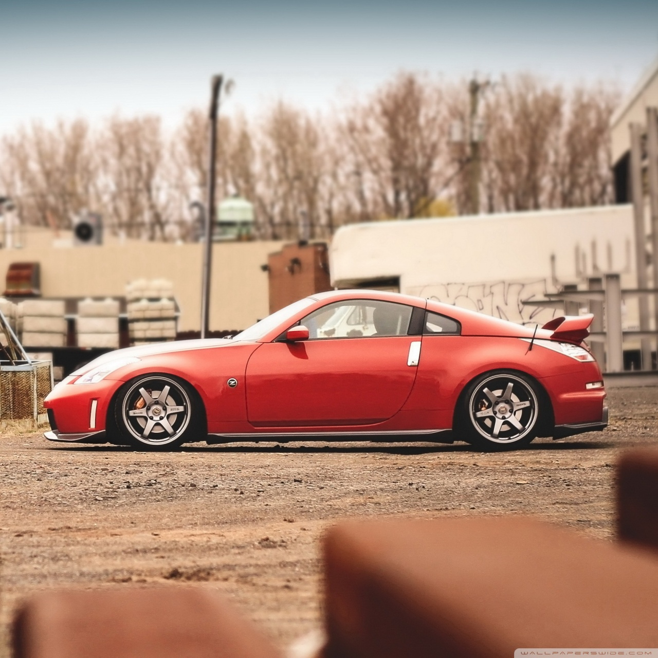 nissan 350z red wallpapers