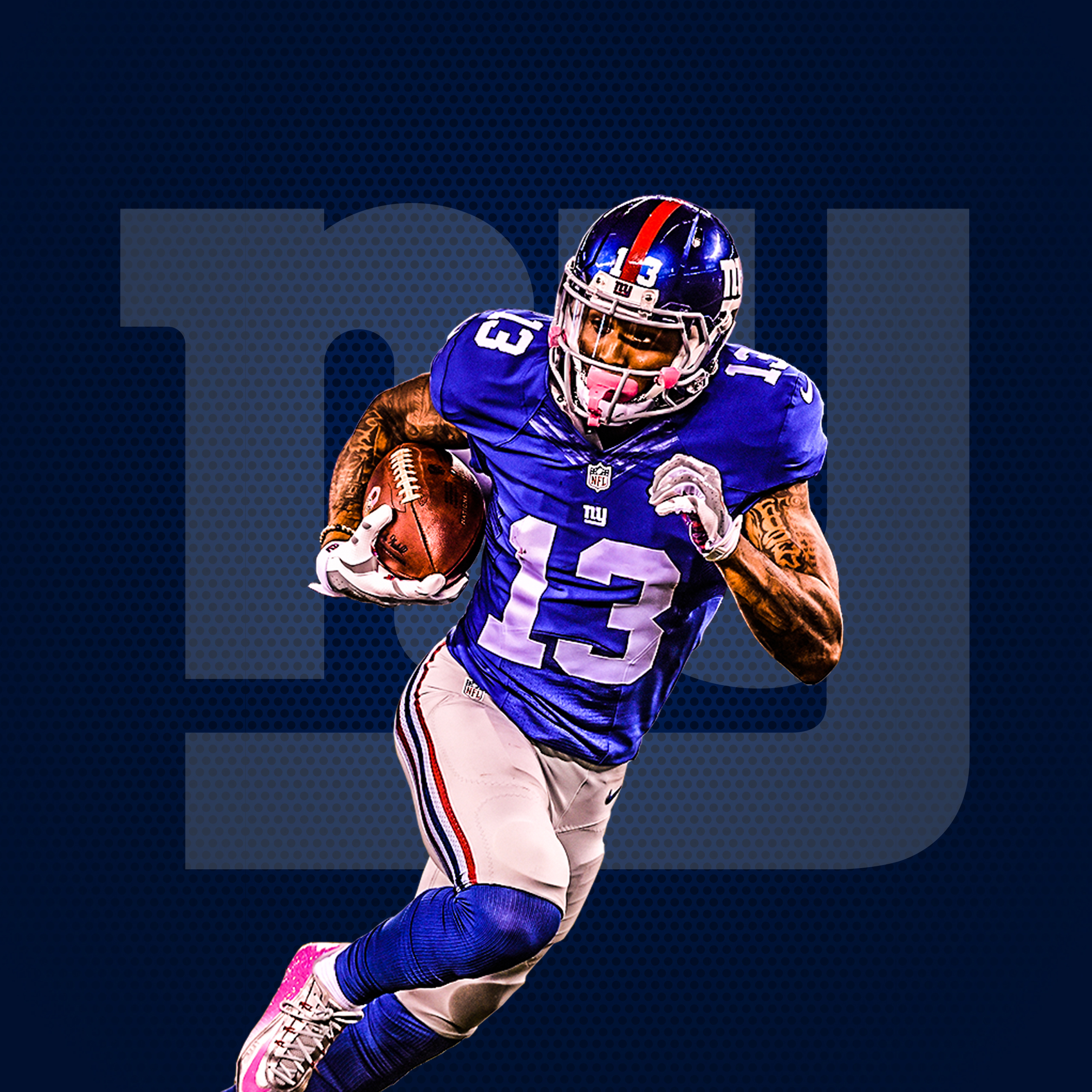 odell beckham jr real 3d wallpaper