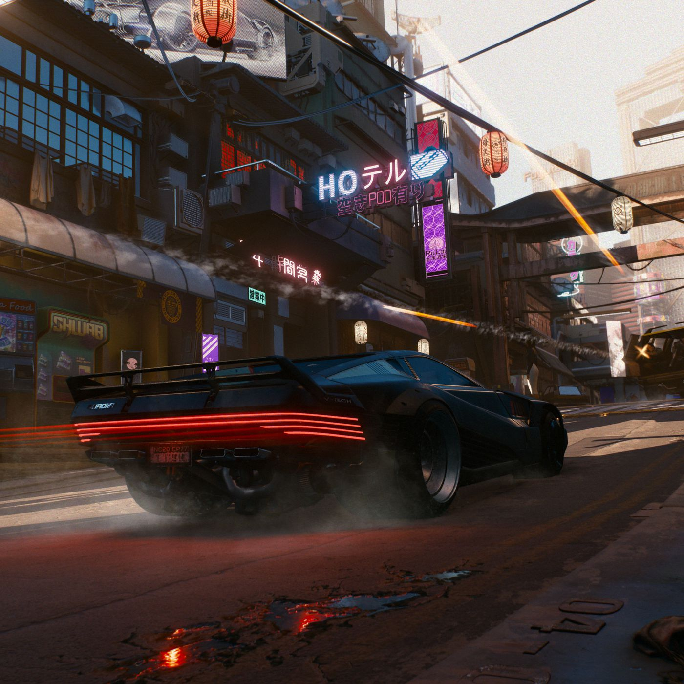 cyberpunk 2077 wanted cops police system spawn cd projekt red