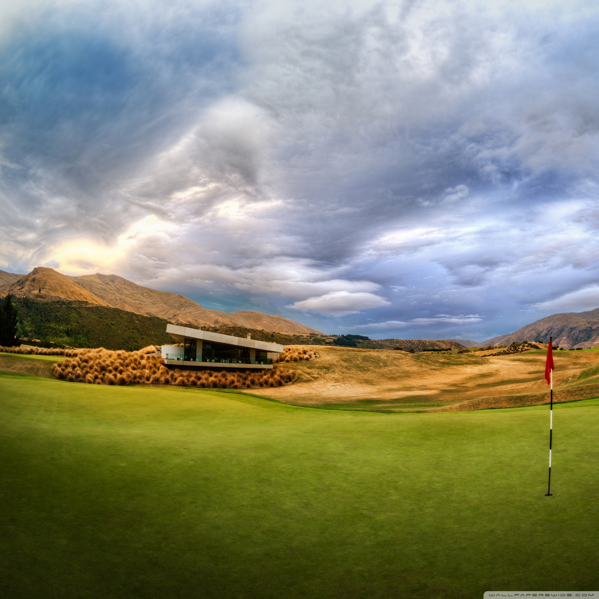 beautiful golf course 2 wallpapers