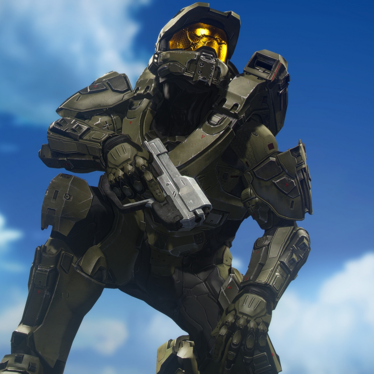master chief halo video game sol r 4k 4bbc