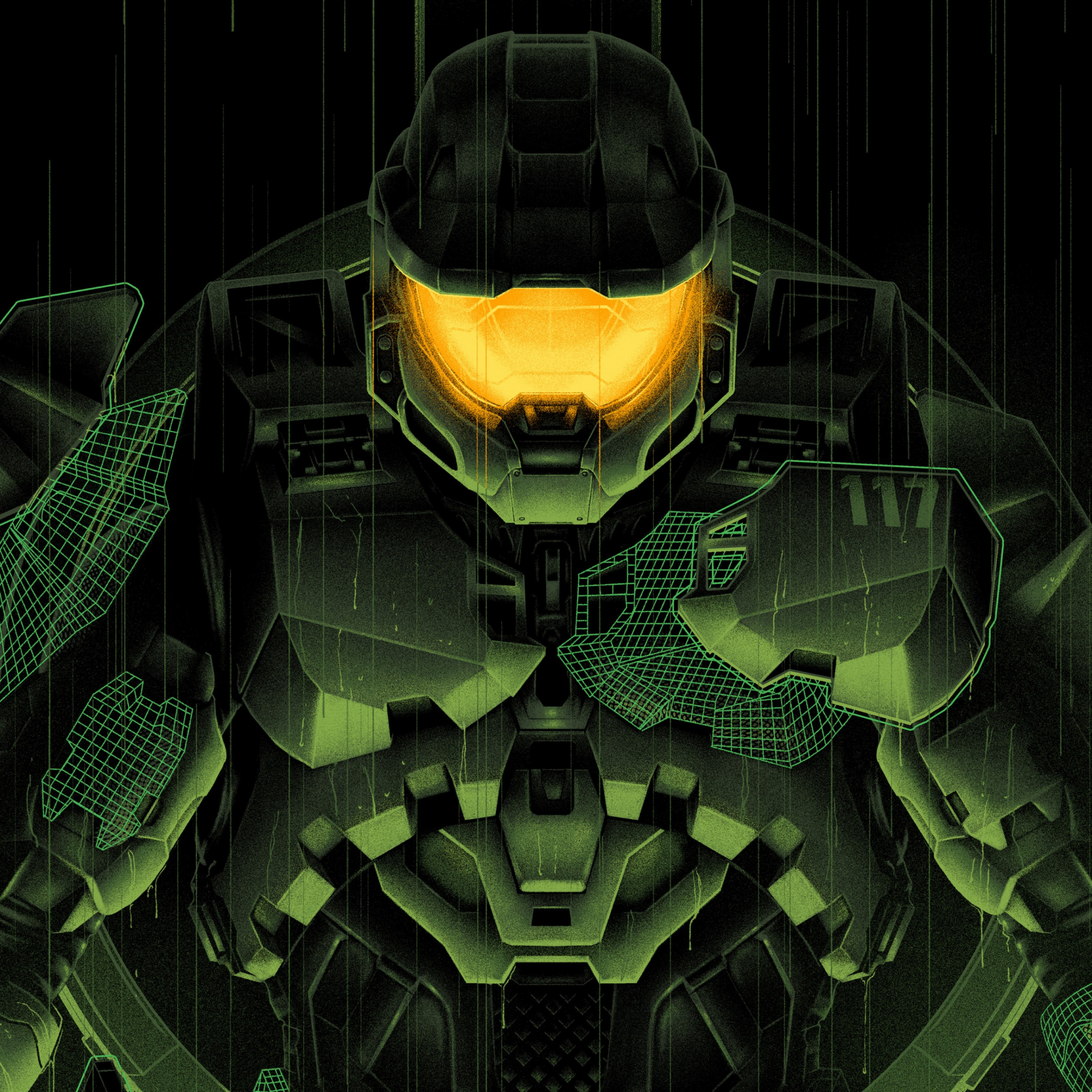 master chief halo infinite artwork 2732x2732 2633