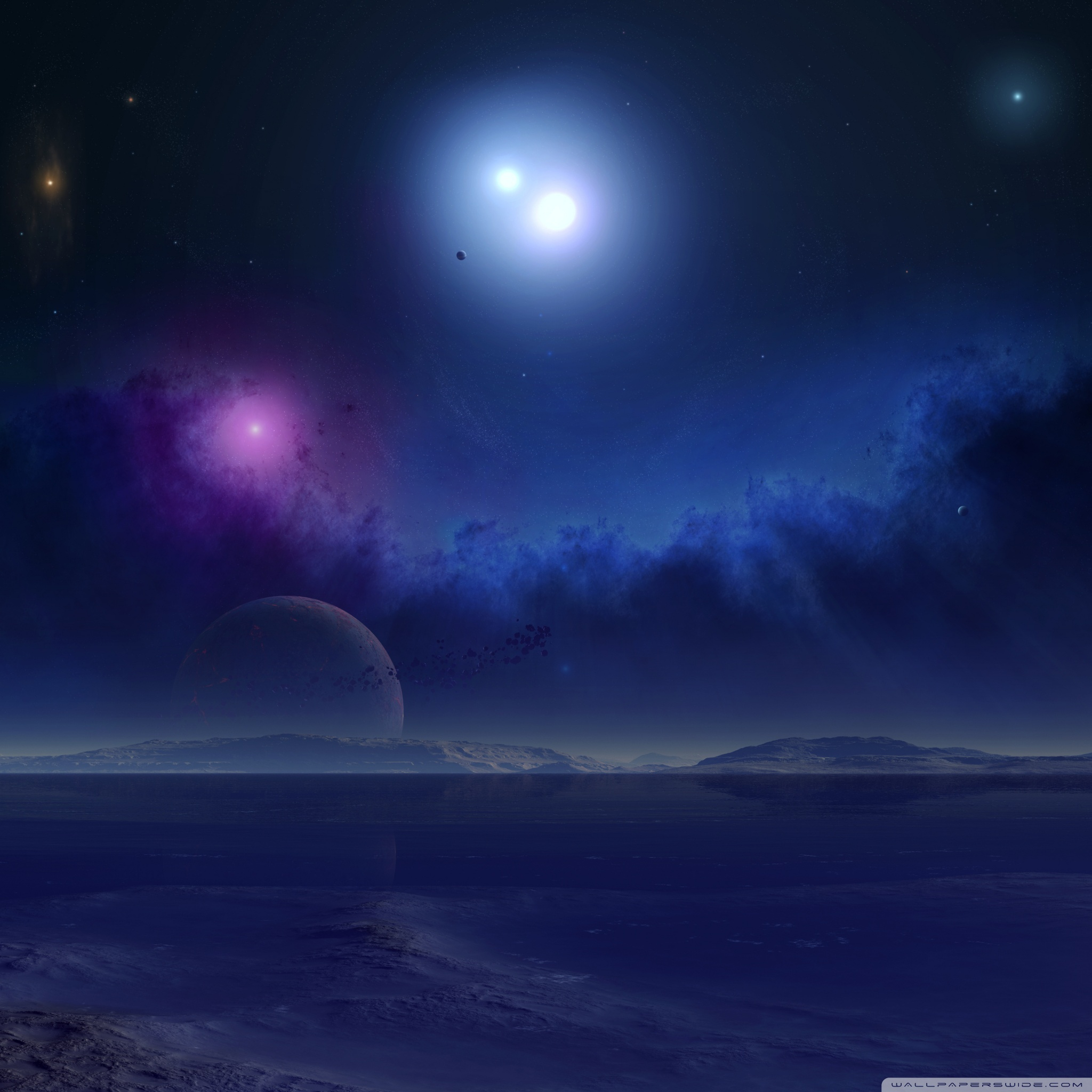 science fiction scenery 3 wallpapers