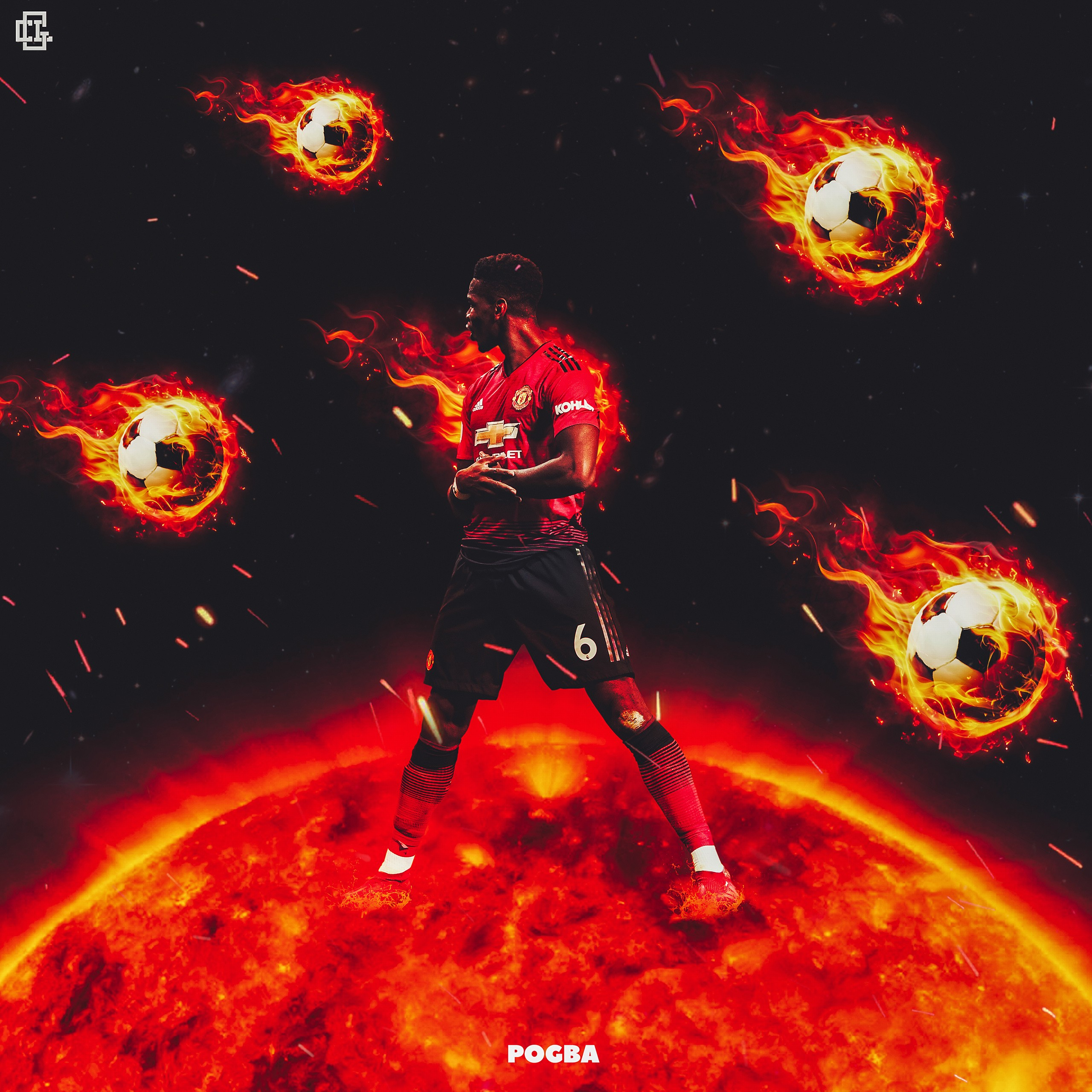 paul pogba manchester united french footballer 4k wallpapers
