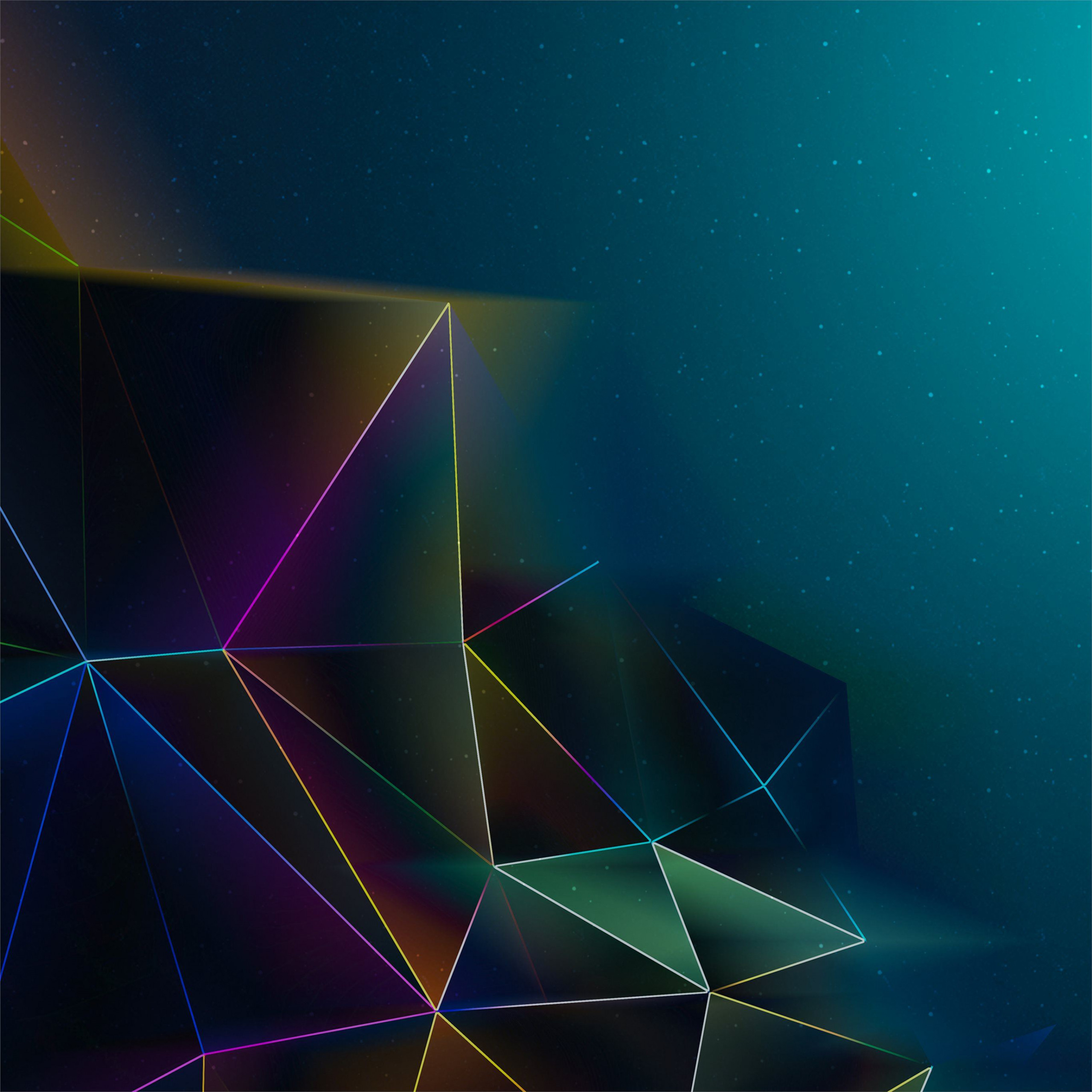 abstract triangle wallpaper 4k