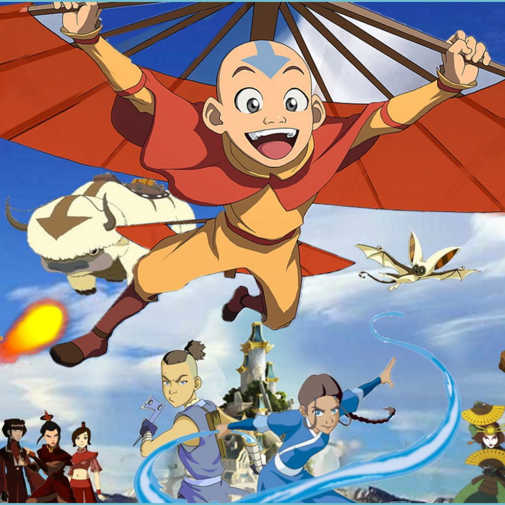 avatar the last airbender wallpaper by the dark mamba 14 on last airbender wallpaper 1024x1024