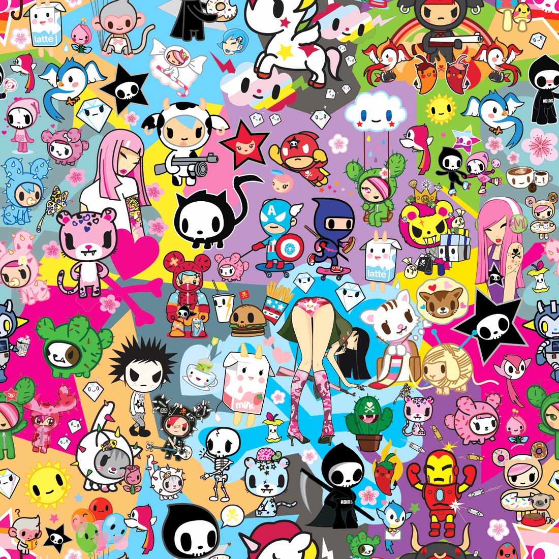 tokidoki wallpapers fresh november 2011 fair rabbit art this month of tokidoki wallpapers