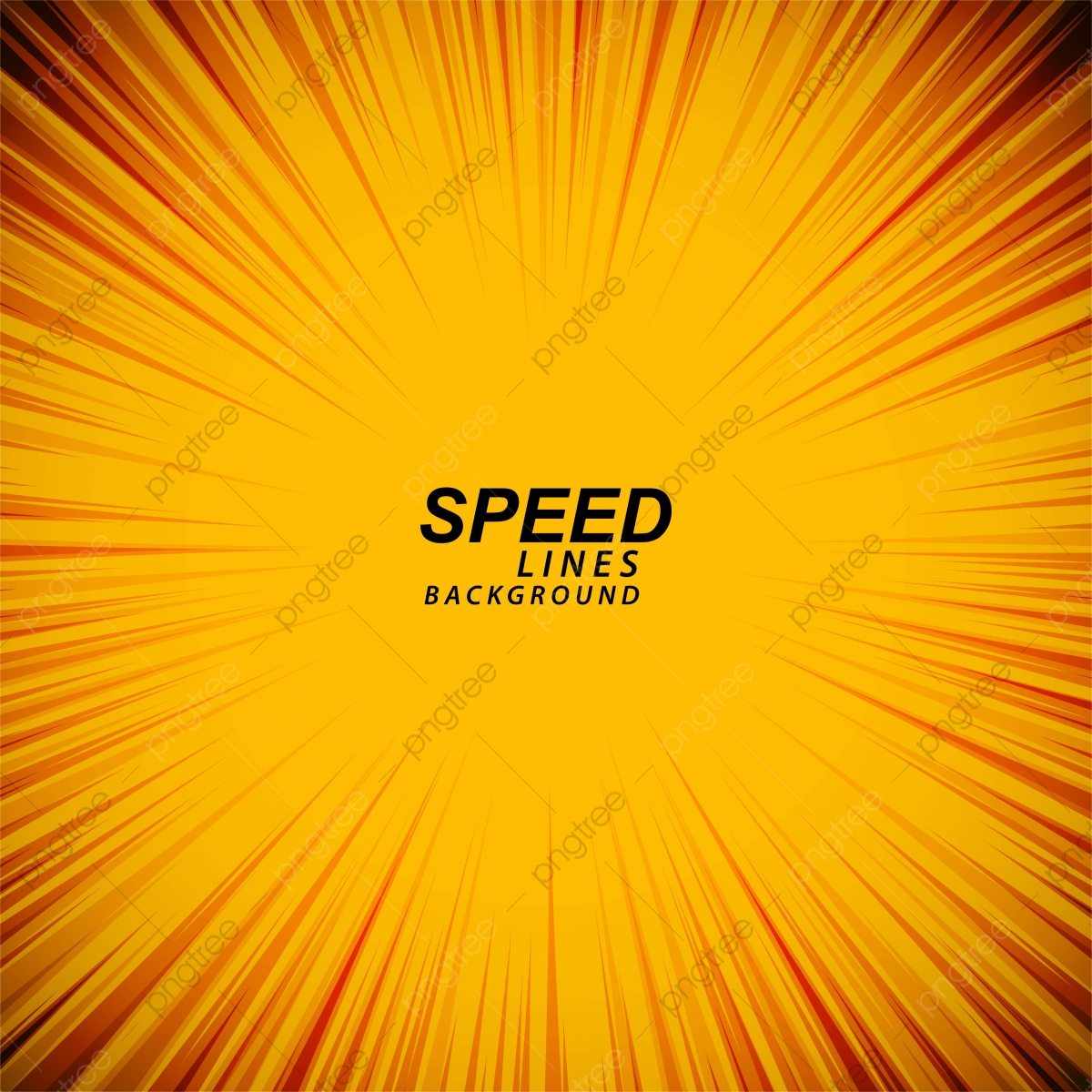 pngtree yellow ic speed zoom lines background vector png image