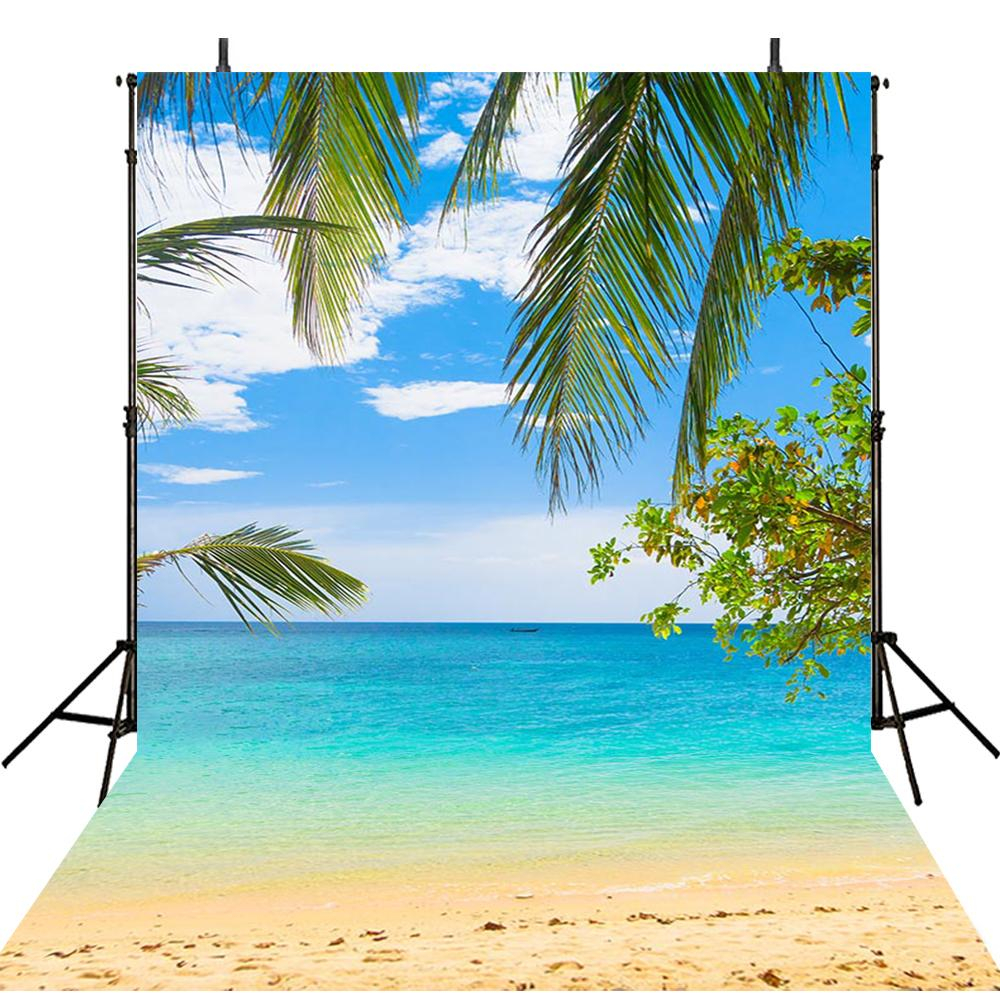 sea beach photo backdrop summer tropical backdrop for picture ocean photography background photo backdrop beach scene 6x9 backdrop hawaii theme photo booth props luau
