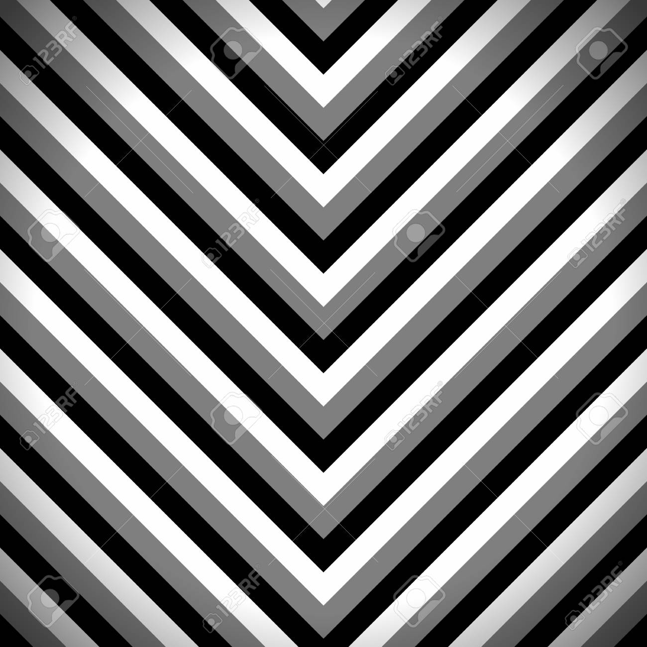 photo stock vector striped zigzag pattern with black dark grey and white stripes abstract wallpaper background vector i