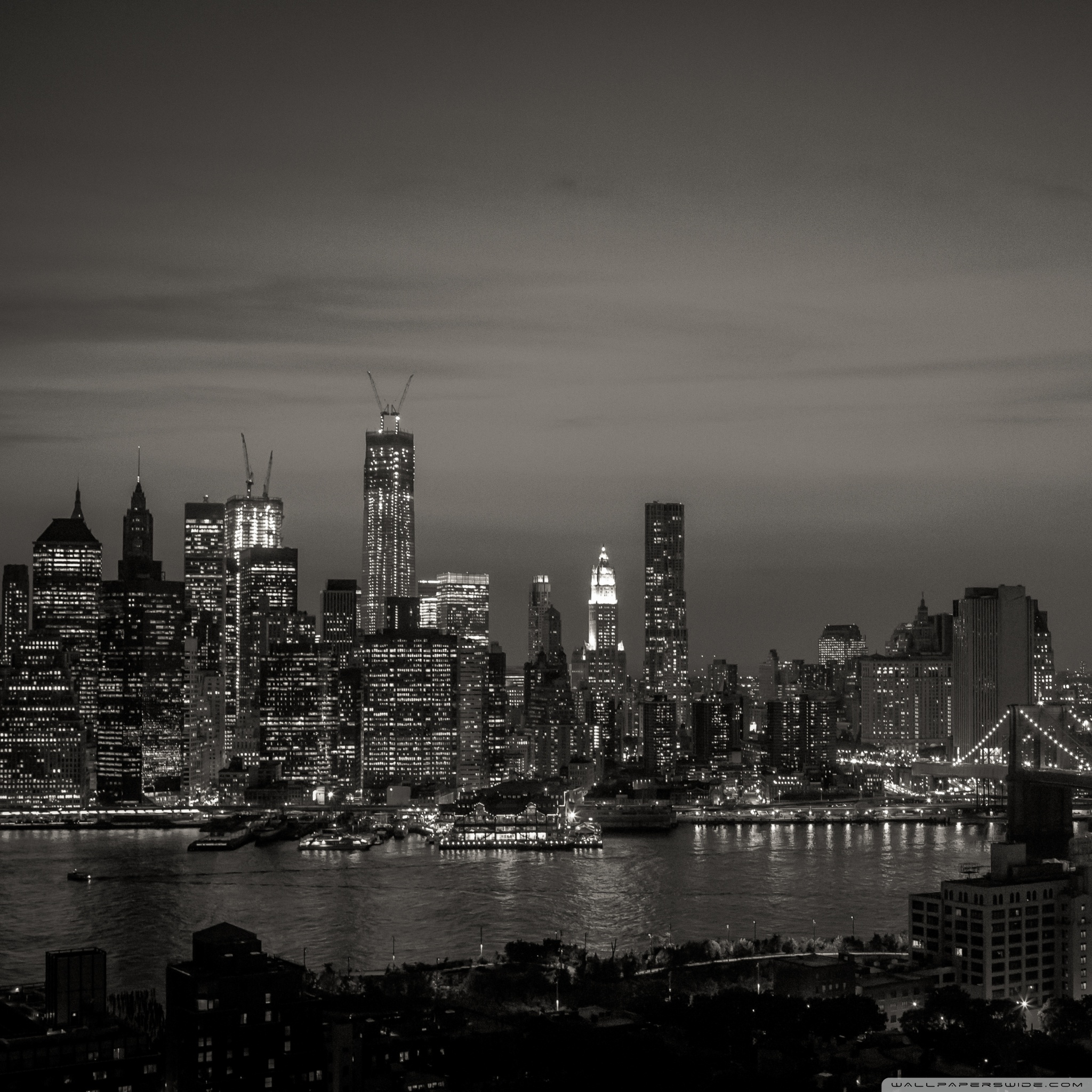new york city black and white wallpapers