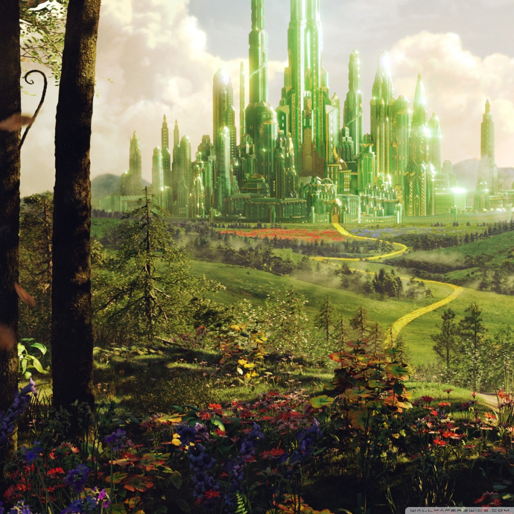 Oz The Great And Powerful Land of Oz 4K HD Desktop