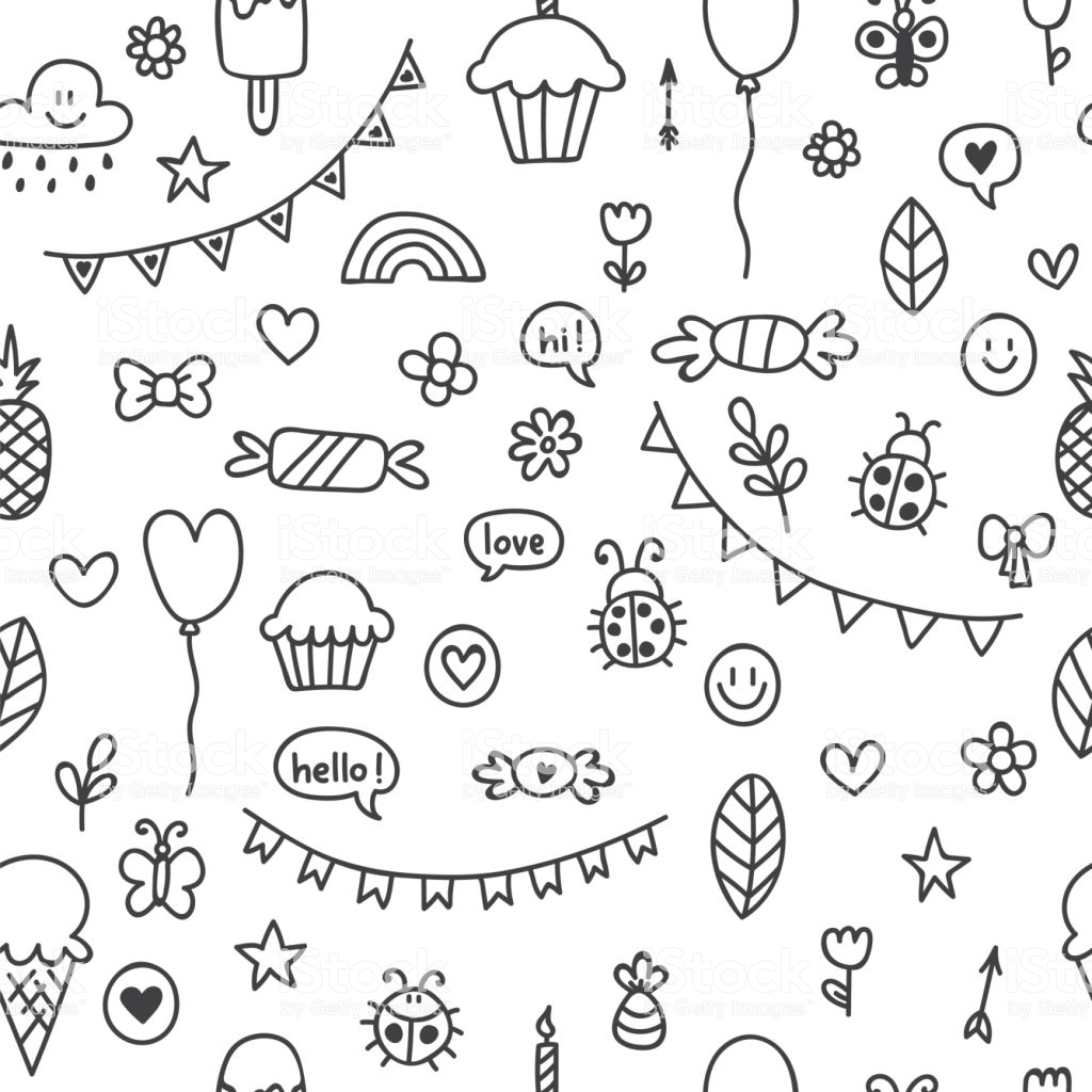 Aesthetic Background Drawings Nature Change Color Vector