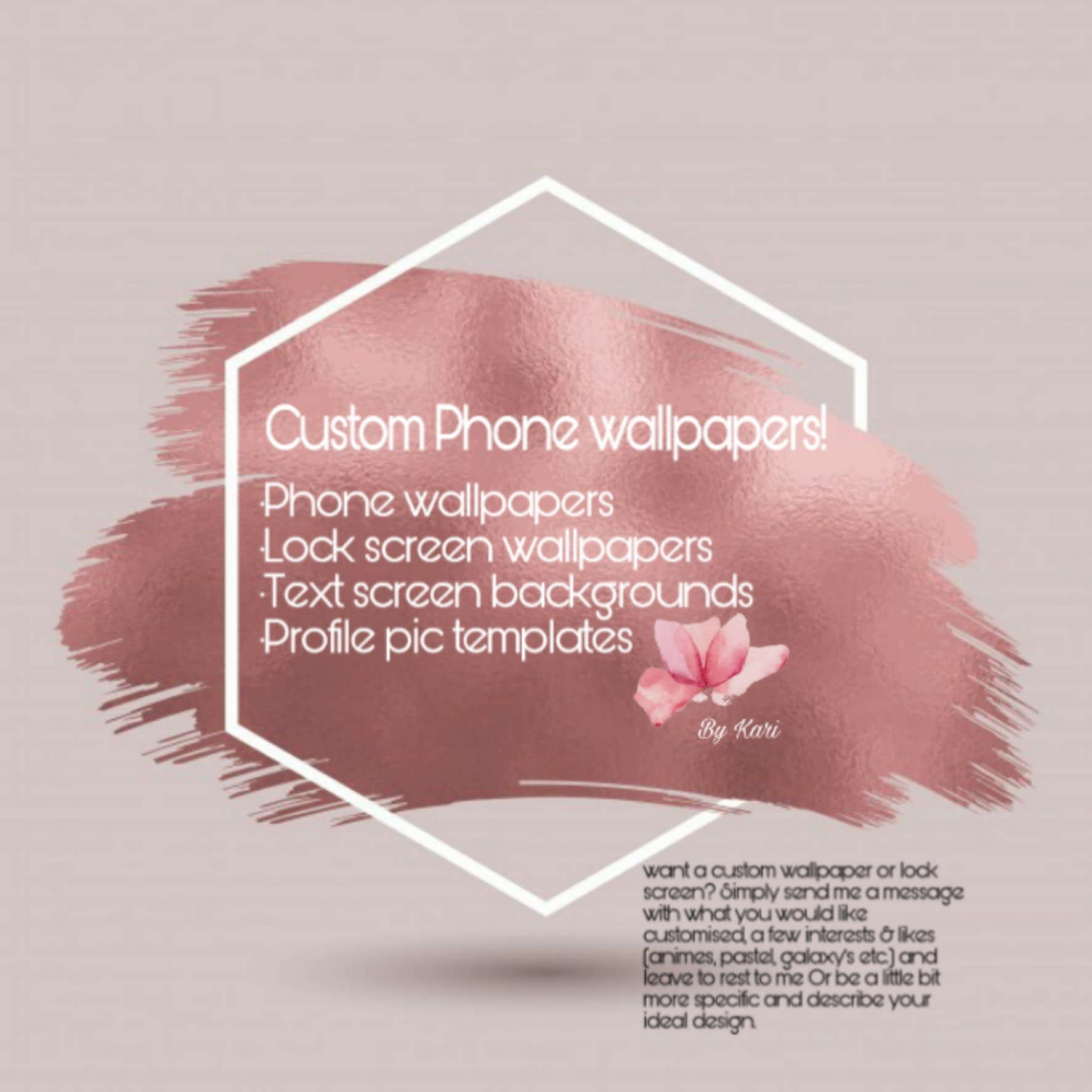 create custom wallpapers for your smartphone