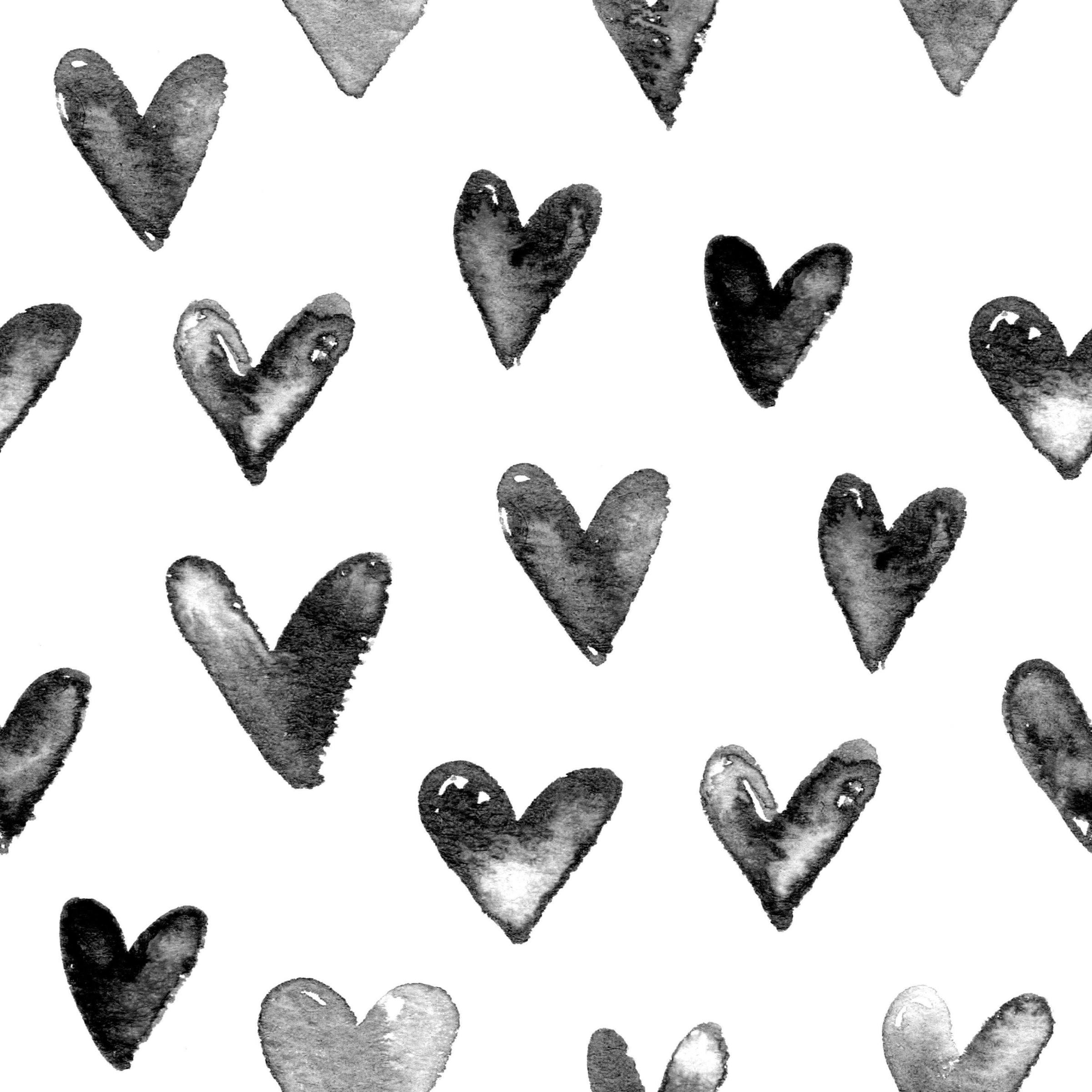 Shop B Darling Juniper Heart Wallpaper The Project Nursery Shop 2400x